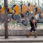 Graffiti Tag in Holguin, Cuba
