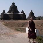 Lemyethna Paya in Mrauk U, Myanmar