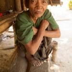 Old Man of the Chin Tribe in Rakhine State, Myanmar
