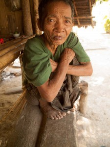Old Man of the Chin Tribe in Rakhine State, Myanmar