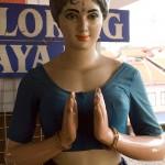 Mannequin at Tekka Market, Little India, Singapore