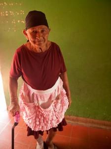 Old Woman in Masaya, Nicaragua