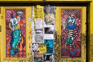 Nightclub Doors on Frenchmen St., New Orleans