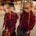 Novice Monks in Kentung, Myanmar