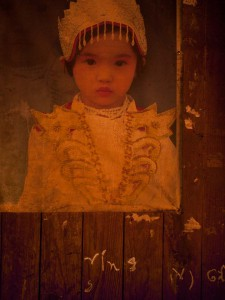 Portrait of a Young Palaung Girl in Shan State, Myanmar