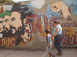 Revolutionary Mural in Holguin
