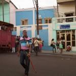 Street Scene in Santiago de Cuba