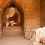 Temple Interior in Old Bagan, Yangon