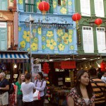 Temple Street in China Town, Singapore