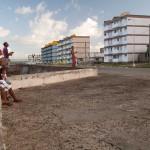 The Malecon in Baracoa, Cuba