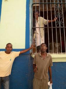 Three People in Santiago de Cuba