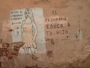 Graffiti in Santiago de Cuba