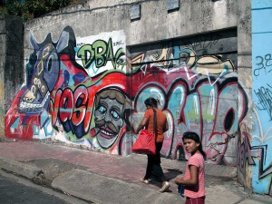 Street Art in Diriamba, Nicaragua