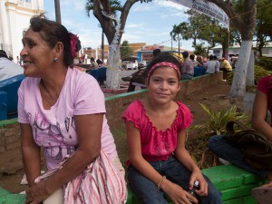Woman and Girl in Diriamba, Nicaragua