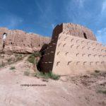 Approach to Qizil Qala Ruins in Khorezm, Uzbekistan