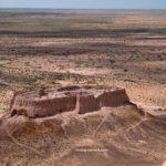 Smaller Ruined Fort at Ayaz Qala, Khorezm, Uzbekistan