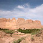 Ruined Fort of Qizil Qala in Khorezm, Uzbekistan