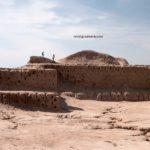 Topraq Qala in Kyzyl Kum Desert of Uzbekistan