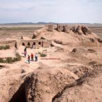 Ruins Of Topraq Qala in Khorezm, Uzbekistan