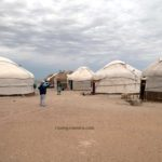 Yurt Camp in Kyzyl Kum Desert, Khorezm, Uzbekistan